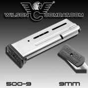 Wilson Combat 500-9: 911 Elite Tactical Magazine, 9mm, Full-Size, 10 Round, ETM Base Pad