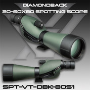 Vortex SPT-VT-DBK-80S1: Diamondback 20-60X80 Spotting Scope