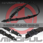 Magpul MAG514-BLK: MS3 Multi-Mission Sling G2 Blk