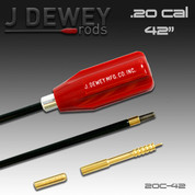 Dewey 20C-42: JDM .20 Caliber Nylon Coated Rod- 42 Inch
