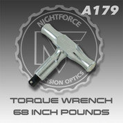 Nightforce A179: Torque Wrench 68 inch lbs