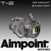 AimPoint 200180: T-2 AP Micro No Mount-2MOA