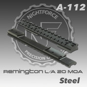 Nightforce A112: Rem 700 L/A 1pc 20 MOA Base