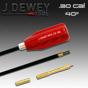 Dewey 30C-40: .30 Caliber Nylon Coated Rod - 40 Inches