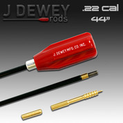Dewey 22C-44: .22 Caliber Nylon Coated Rod- 44 Inches