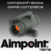 AimPoint 11972: CompM4h 2MOA/QRP2 Complete