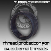 Thunder Beast T-PRO T16102EDF: Thread Protector for BA External Threads