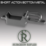 Surgeon SA Bottom Metal: Short Action Bottom Metal