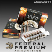 Federal LE308T1: Tactical Bonded 308 Win 168gr Soft Point
