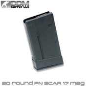 DDM Supply SCAR 17S: .308 20rd. Black Polymer Magazine