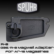 Spuhr R-8: G36/R-8 Magwell Adapter for Ar-15 Magazines