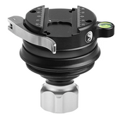 Really Right Stuff: Versa Series 3 Leveling Base w/ Clamp and Low-Profile Knob