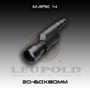 Leupold 110826: Mark 4 20-60x80MM Spotting Scope, Black TMR