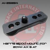 Accuracy International AI-25854: Harris Bipod Mount for 2014+ AX & AT