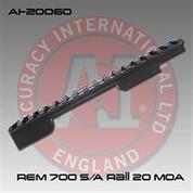 Accuracy International AI-20060: Short Action 20 MOA Action Rail