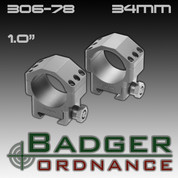 Badger Ordnance 306-78: Std Height 34mm Max-50 Alloy Ring