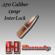 Hornady H2730: .270 Caliber 130gr InterLock 100ct/Box