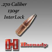 Hornady 2730: .270 Caliber 130gr InterLock 100ct/Box
