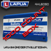 Lapua 4HL6050: 6mm/.243 105gr Scenar Lockbase 1000ct