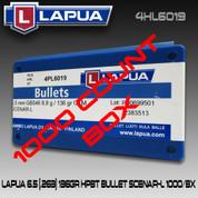 Lapua 4HL6019: 6.5cal 136gr Scenar Lockbase 1000/Box