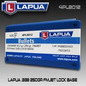 Lapua 4PL8012: 338cal 250gr FMJBT 100/Box