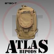 Atlas BT30CB: AccuShot Bipod Pouch, Coyote Brown