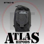 Atlas BT30B: AccuShot Bipod Pouch, Colors-BT30B Black