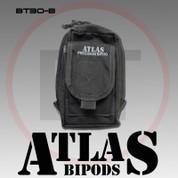 Atlas BT30B: AccuShot Bipod Pouch, Colors-BT30B Black