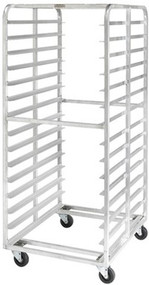 Aluminum Double Pan Racks