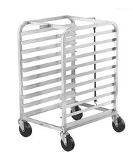 Aluminum Half-Height Bun Pan Racks