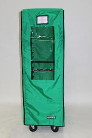 Green Color Double Bun Pan Rack Cover