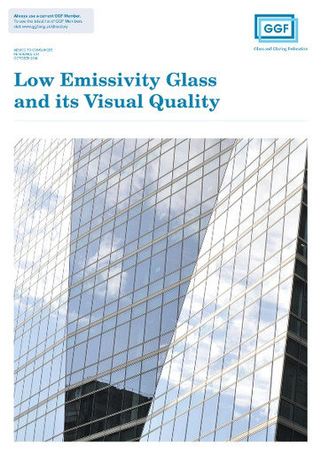 The Visual Quality of Low Emissivity Glass Leaflet is an 8 page A5 brochure that offers homeowners advice on the use of low emissivity (low-e) glass in domestic windows. This leaflet explains the energy efficient benefits from using low-e glass in your home.