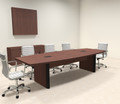 Modern Boat Shaped 10' Feet Conference Table, #OF-CON-CP2