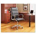 Hi Back Modern Leather Swivel/Tilt Office Chair, #AL-NR4119