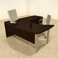 3pc L Shaped Modern Contemporary Executive Office Desk Set, #OF-CON-L15