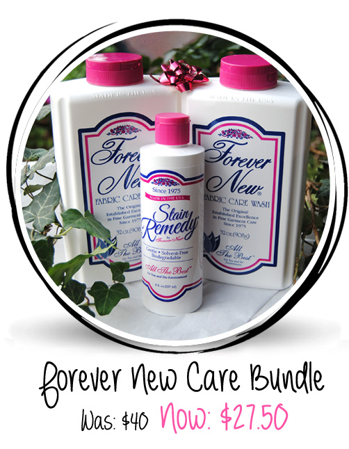 Forever New Fabric Care Bundle