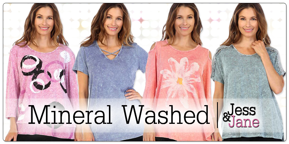 Jess & Jane Mineral Washed