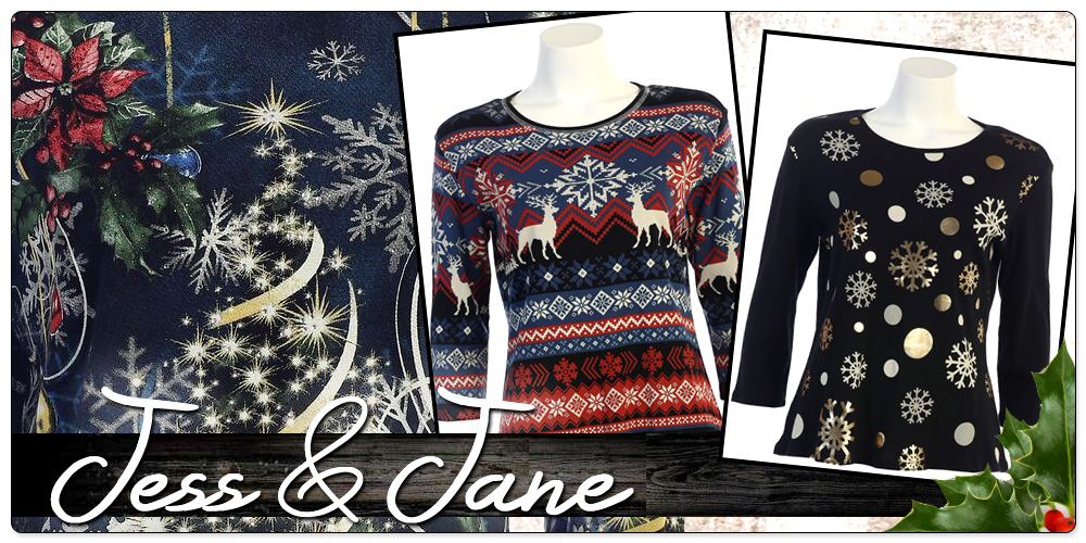 Jess & Jane Holiday Cotton Prints