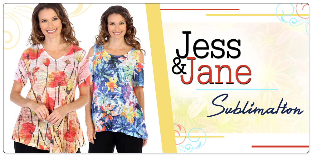 Jess & Jane Sublimation Prints