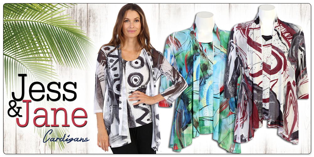 Jess & Jane Sublimation Cardigans