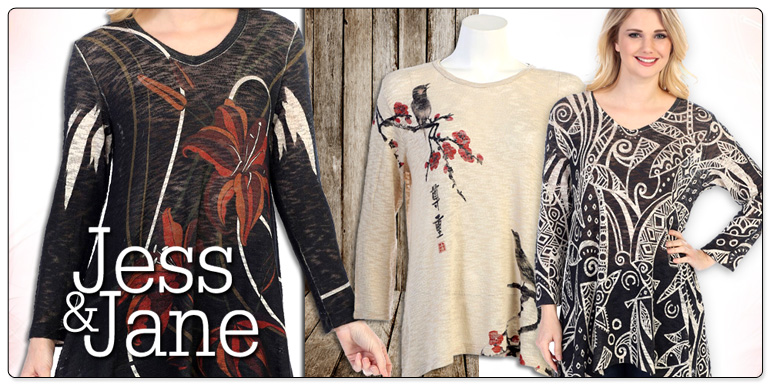 Jess & Jane Spring Sublimation Styles