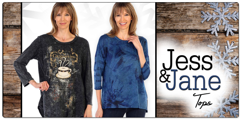 Jess & Jane Tops