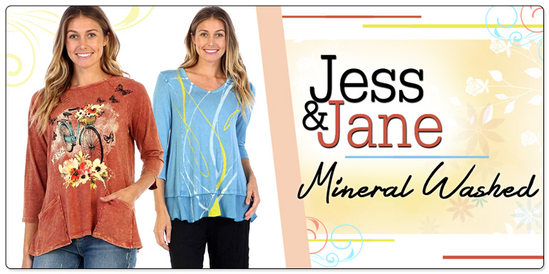 Jess Jane Clothing Tops Tunics Leggings More