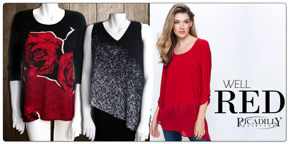 Well Red by Picadilly Fashions