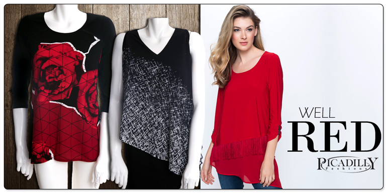 Picadilly Fashion's Well Red Group