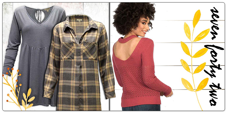 Hamrick Clothing - Seven Forty Two Fall 2018