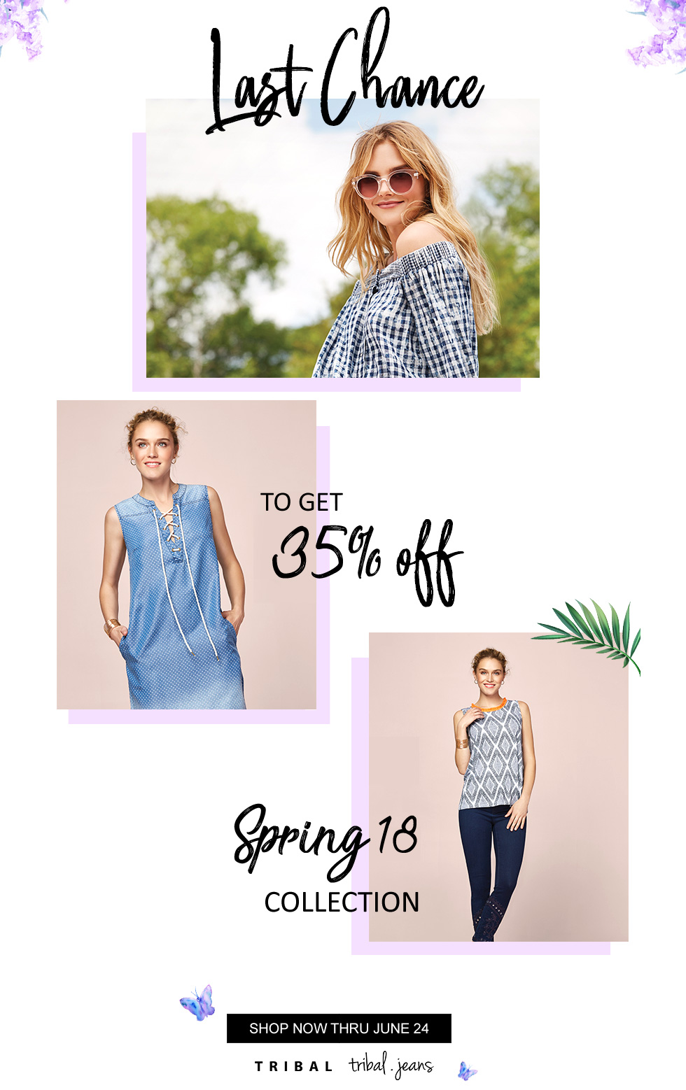 Tribal Spring 2018 Sale