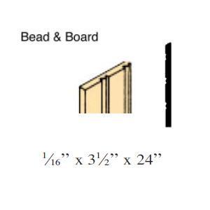 Bead & Board (NE385)