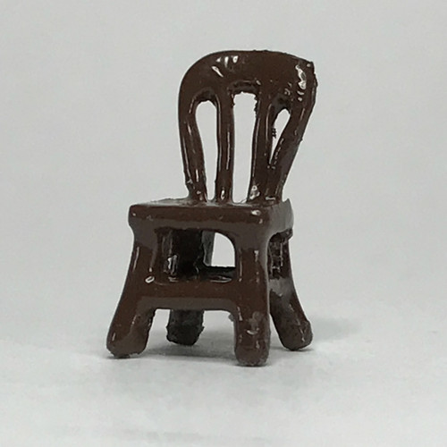 144th scale side chair