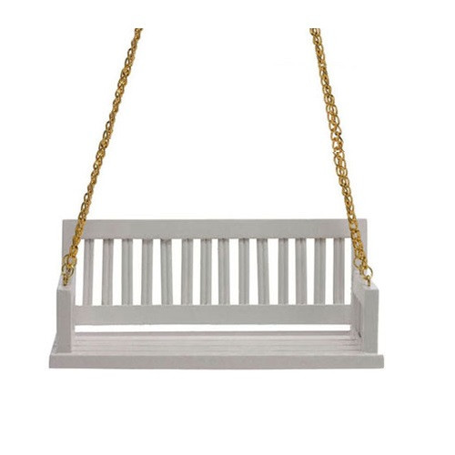 white wood porch swing stand straight view home depot chain